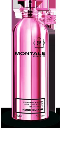 Купить в Москве духи Montale - Rose Elixir Hair Mist (Монталь – Роуз Иликсэ Хэа Мист) Отзывы Доставка по России и миру Консультации по тел. +7 495 741 12 89